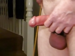 Caning my uselss cock.mp4