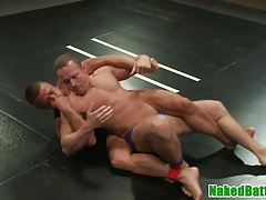Muscled jocks in ass rim and cocksucking 69