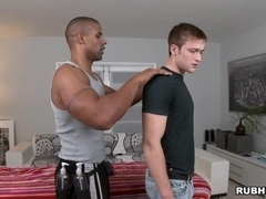 Robert Axel welcomes Rick McCoy's dick in his amazing gay asshole