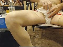 cd crossdress  panties panty cum