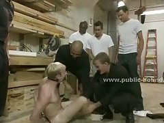 Boy busted in gang bang by group of men
