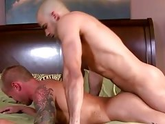 Gay jock face down ass up for gay muscle to fuck him