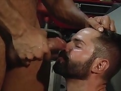 Epic Facial and Cum Kiss