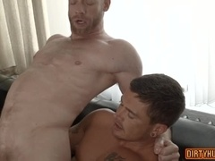 Muscle gay bareback with cumshot