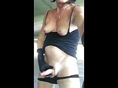Second Tribute to the sexy Vicky a French Trans 2