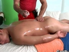 A duo amazing hunks in sexy gay massage