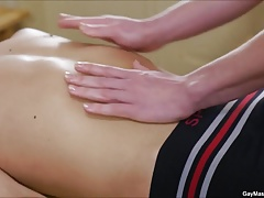 Hot Twink Action On The Massage Table