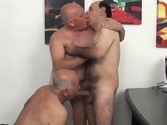 threesome sex with grandpas