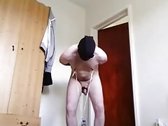 Nipple torture by bottle