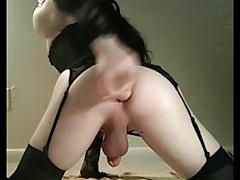 CD Robin banks in sexy lingerie
