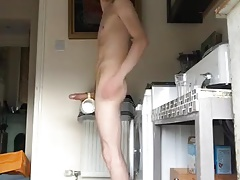 Boner in the kitchen