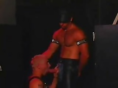 Leather fuck