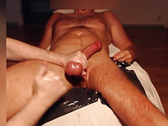 Me bust my buddys balls & drain them good - amputee stud