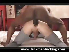 Using white boy toy
