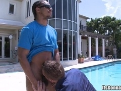 Castro Supreme makes a gay daddy suck his boner and bangs his ass hard
