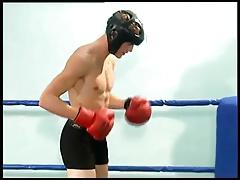 Boxer Boys Fucking on Ring