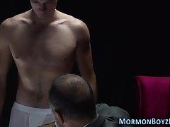 Mormon gets asshole toyed