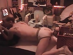 Gay dildo INSERTIONS solo