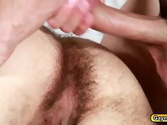 Jimmys anal gets nailed by Tanners big dick