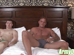 Zack sticks his hard dick into Gabriels tight little hole