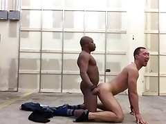 This black guy enjoys his friends ass