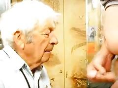 Gay grandpa cum