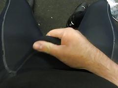 cycling tights rubbing bulge