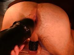 very big dildo in my ass !!!!!