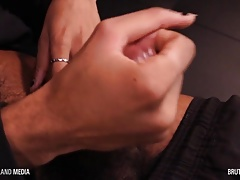 Sam Blue strokes his throbbing bbc HD solo