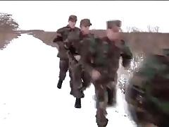 Hot Military Orgy