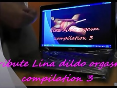 107.Tribute Lina dildo orgasm compilation 3