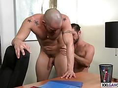 Studs big dick hurts his ass