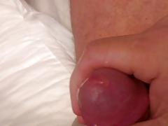 Peeing and cum