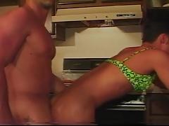 Twink In A Bikini Gets A Cock