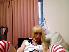 Japan cosplay cross dresse120