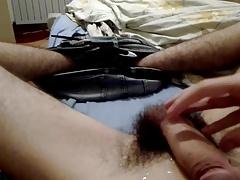 Big hairy Romanian dick huge cumshot