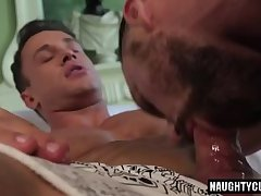 Russian gay flip flop and cumshot