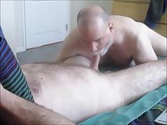 Deviant Dad's Dick Sucking Duty.  OralistDan Video 214