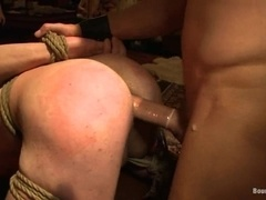 A few horny queers get tormented by dominators in group BDSM scene