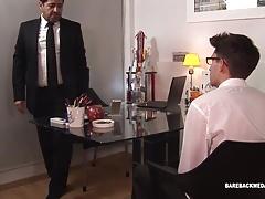 Dad and Son Latin Bareback Flip Fuck