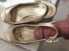 Arabic mature sandals cum