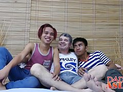 Mature Daddy Daddy has fun with his Robin and Nishi