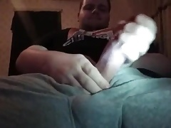 A thick dick and a nice load