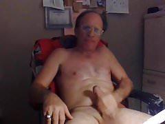 Masturbating My Big Thick Cock & Big Balls Bouncing.