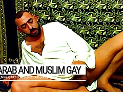 Arab gay vicious, muslim Libyan cumming on prayer carpet