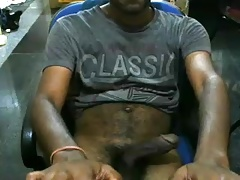 Thick Hairy Indian Cock