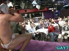 Gay stripper used by six teens