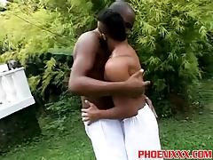 Hunk gay studs big black cocks hard deep anal banging