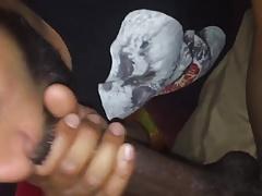 twink sucking big black cock