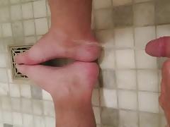 Peeing on my feet